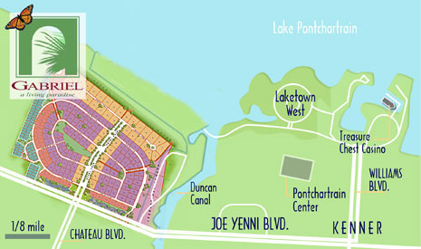 Gabriel's lakefront location offers residents a host of recreational possibilities.